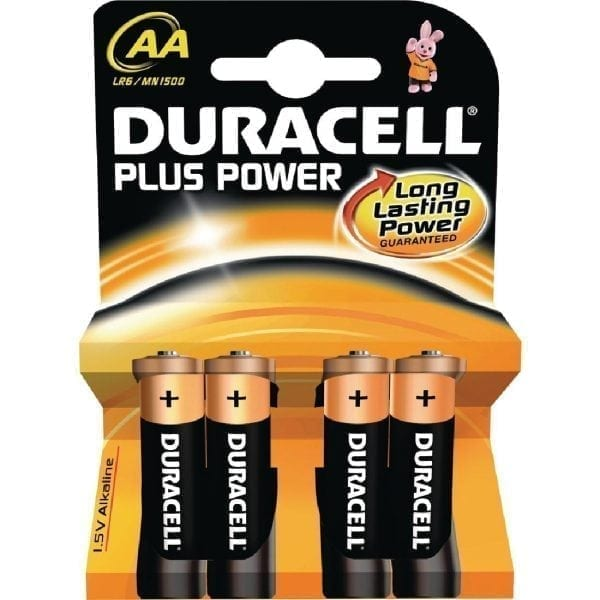Duracell Battery AA (Pack 4)-0