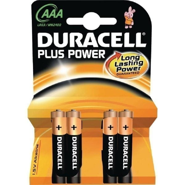 Duracell Battery AAA (Pack 4)-0