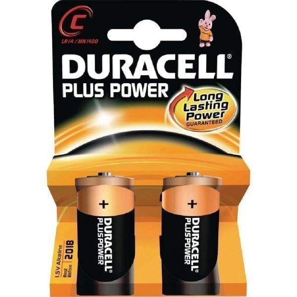 Duracell Battery C (Pack 2)-0