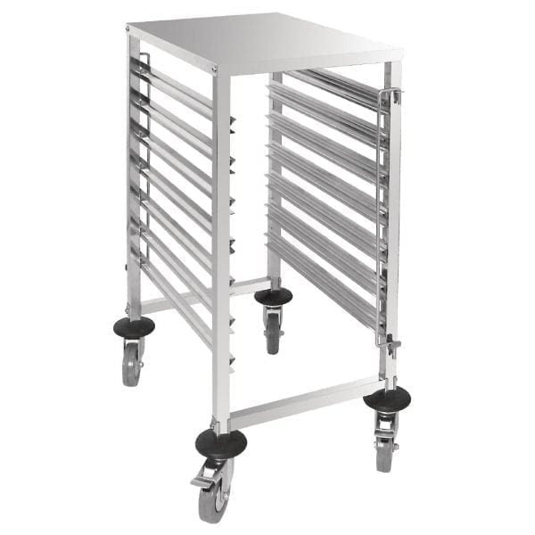 Vogue Gastronorm 1/1 Racking Trolley (7 Level)-0