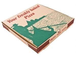 "Pizza Box Gondola Design - 12"" (Box 100)-0"