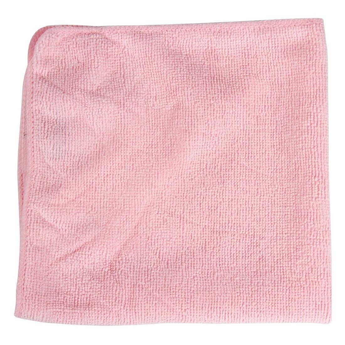 Rubbermaid Pro MicroFibre Cloth Red (Pack 12)-0