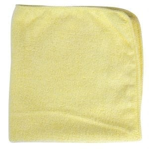 Rubbermaid Pro MicroFibre Cloth Yellow (Pack 12)-0