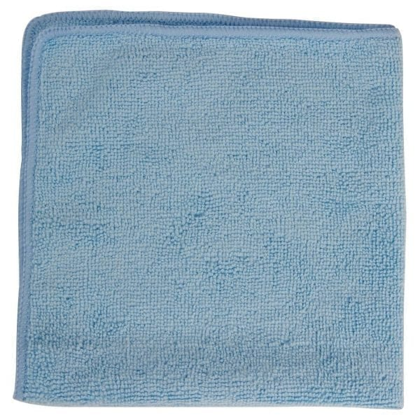 Rubbermaid Pro MicroFibre Cloth Blue (Pack 12)-0