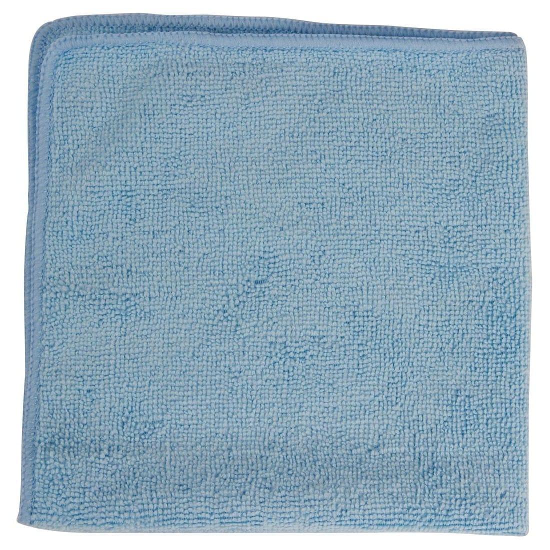 Rubbermaid Pro MicroFibre Cloth Blue (Pack 12)-0