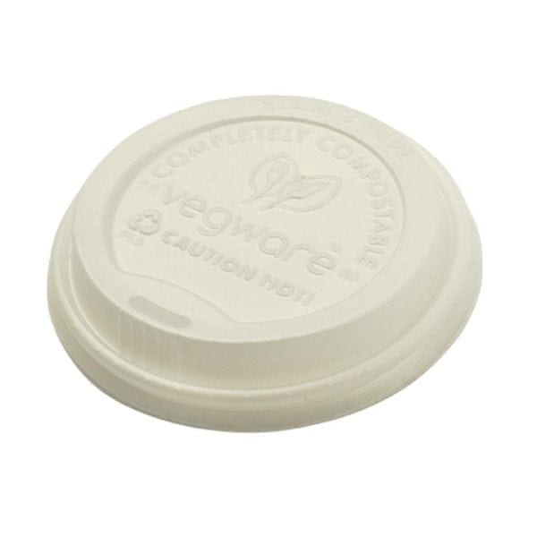 Vegware Hot Cup Lid - 12/16oz for GH021 & GH022 (Box 1000)-0