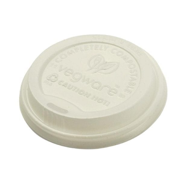 Vegware Hot Cup Lid - 8oz for GH020 (Box 1000)-0