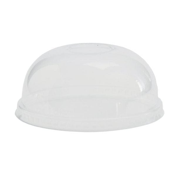 Vegware Domed Lid for Soup/Ice Cream Container - 12/16oz (Box 500)-0