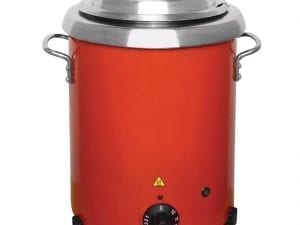 Buffalo Soup Kettle Red with handles-0