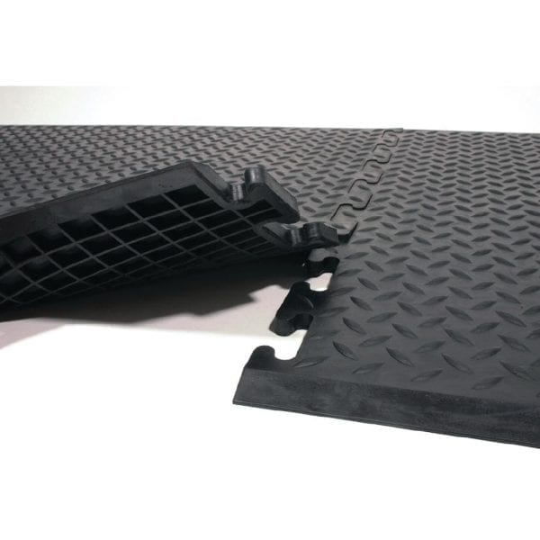 Coba Comfort-Lock Black Mat - 0.7x0.8m (Direct)-0