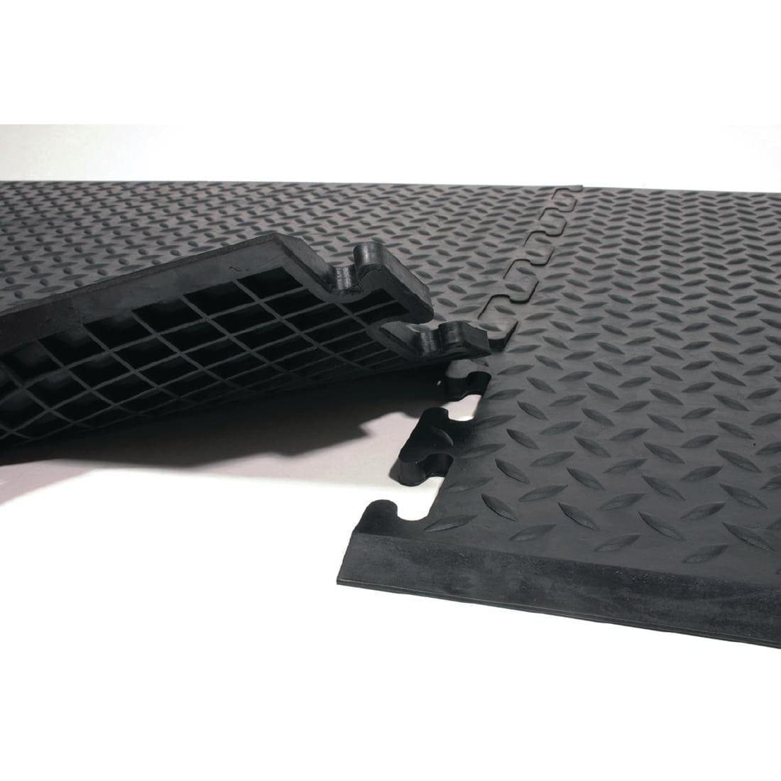 Coba Comfort-Lock Black Mat - 0.7x0.8m (Direct)-0