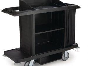 Rubbermaid Large Housekeeping Cart (Direct)-0