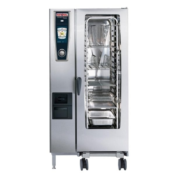 Rational Self Cooking Centre White Efficiency 201 Gas LPG (Direct)-0