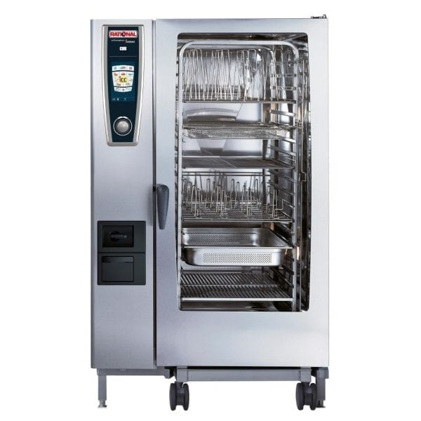 Rational Self Cooking Centre White Efficiency 202 Electric (Direct)-0