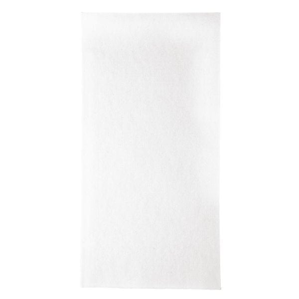 Duni Dunisoft Napkin - 48x48cm 1/8 Fold White (Pack 360)-0