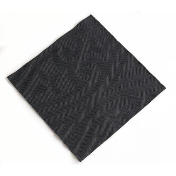 Duni Elegance Napkin - 48cm Black (Pack 240)-0