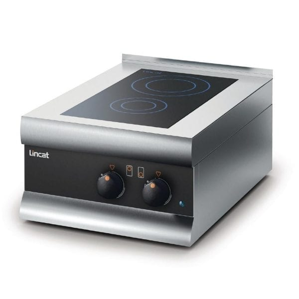 Lincat Silverlink 600 Twin Zone Induction Hob (Direct)-0