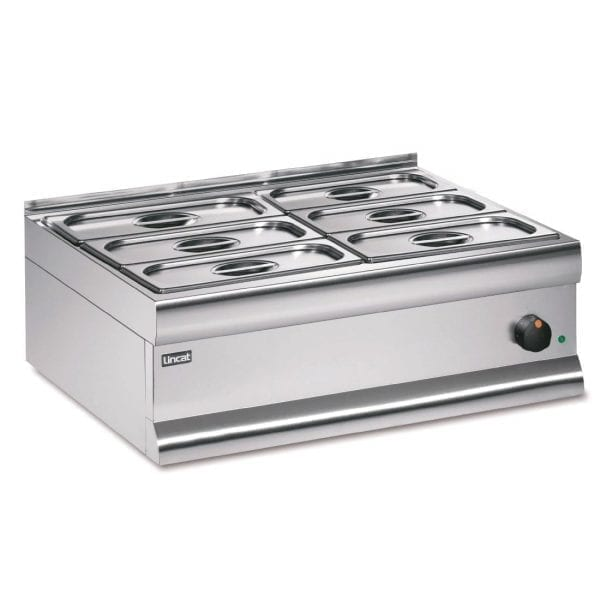 Lincat Silverlink 600 Dry Heat Bains Marie - 6 x 1/3 GN (Direct)-0
