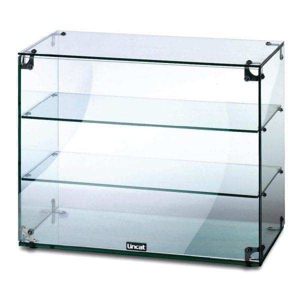 Lincat Seal Glass Cabinet - H490mm x W600mm x D350mm (Direct)-0