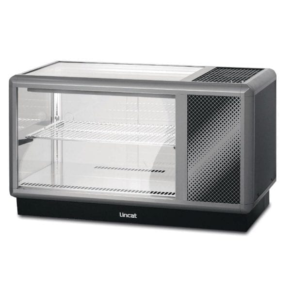 Lincat Seal 500 Refrigerated Merchandiser Back-Service - Width 1000mm (Direct)-0