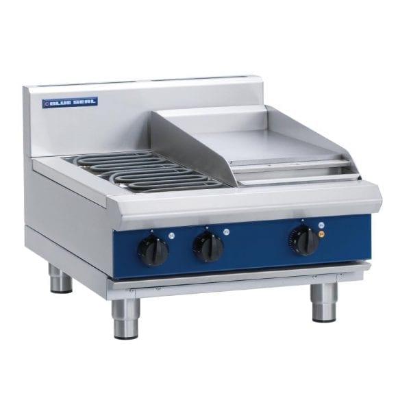 Blue Seal Evolution Cooktop 2 Burner/1 Griddle Electric 600mm (Direct)-0