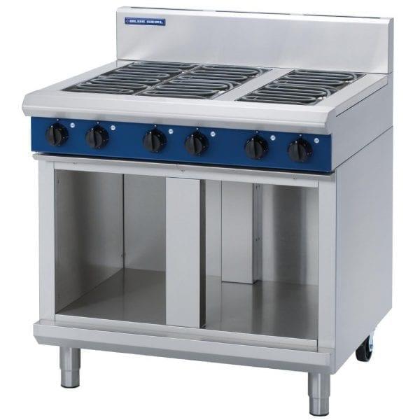 Blue Seal Evolution Cabinet Cooktop 6 Burner Electric 900mm (Direct)-0