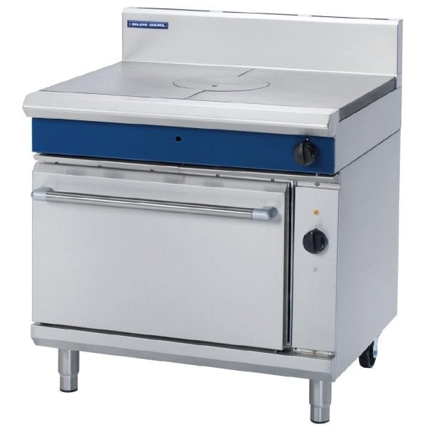 Blue Seal Evolution Targe Top LPG Range with Elec Convection Oven 900mm(Direct)-0