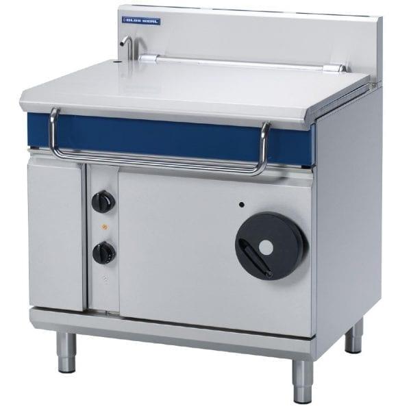 Blue Seal Evolution Tilting Bratt Pan Manual Tilt Mechanism Nat Gas80Ltr(Direct)-0