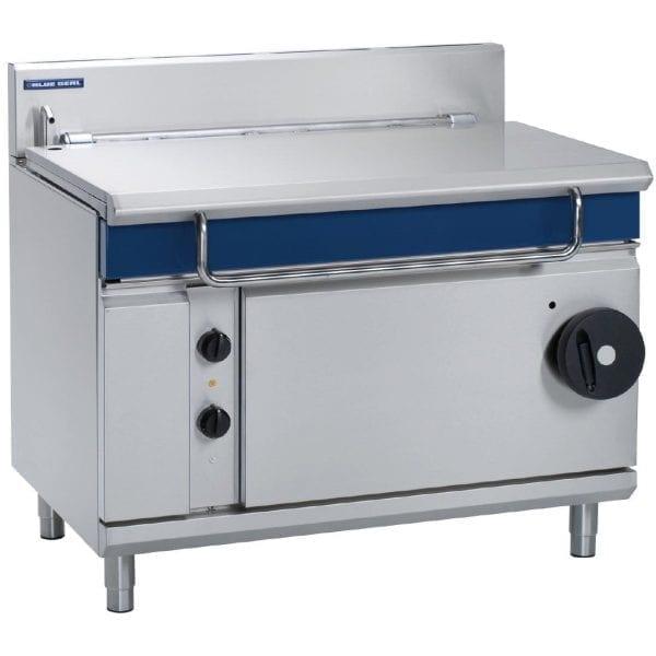 Blue Seal Evolution Tilting Bratt Pan Manual Tilt Mechanism LPG - 120Ltr(Direct)-0