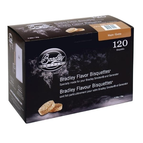 Bradley Maple Bisquettes (Pack 120)-0