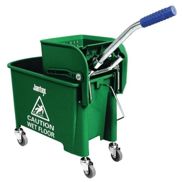 Mop Bucket & Wringer Green - 20Ltr