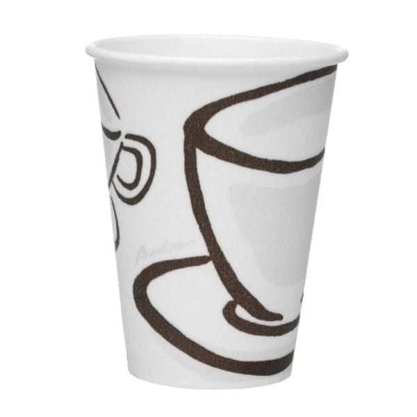 Milano Barrier Hot Cup - 12oz (Box 1000)-0