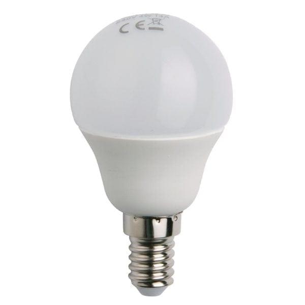 Status LED Round Mini Globe Lamp (Small Edison Screw) - 4watt (25watt)-0
