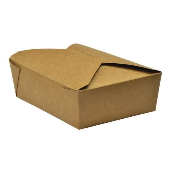 Vegware No5 Food Carton - 1050ml (Box 150)-0