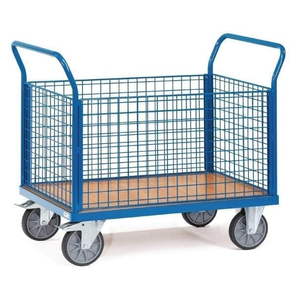 Mesh Box Cart - 500kg 1000x700mm (Direct)-0