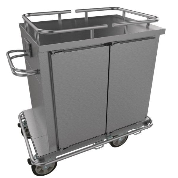 Falcon Chieftain HT2 2 Door Heated Distribution Trolley (Direct)-0