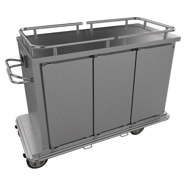 Falcon Chieftain HT3 3 Door Heated Distribution Trolley (Direct)-0