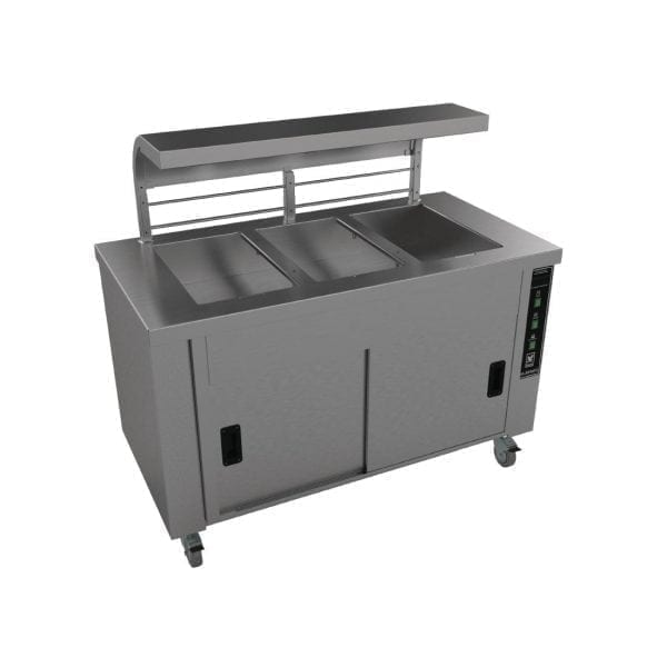 Falcon Chieftain 3 Well Heated Servery Counter (Direct)-0