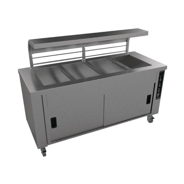 Falcon Chieftain 4 Well Heated Servery Counter (Direct)-0