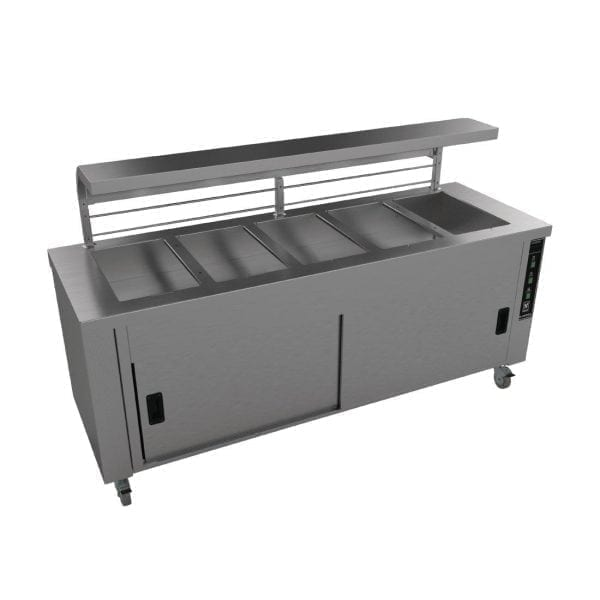 Falcon Chieftain 5 Well Heated Servery Counter (Direct)-0