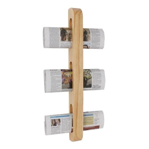 Olympia Wooden Magazine Rack - 605x70x45mm-0