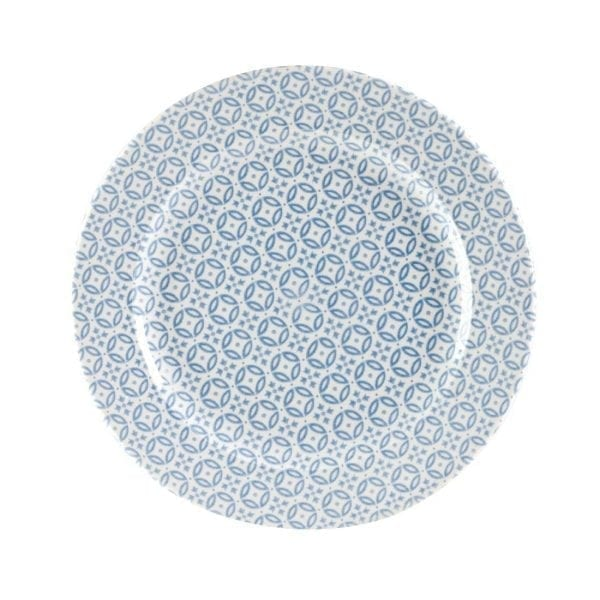 "Churchill Moresque Prints Plate Blue - 276mm 10 5/8"" (Box 12) (Direct)-0"