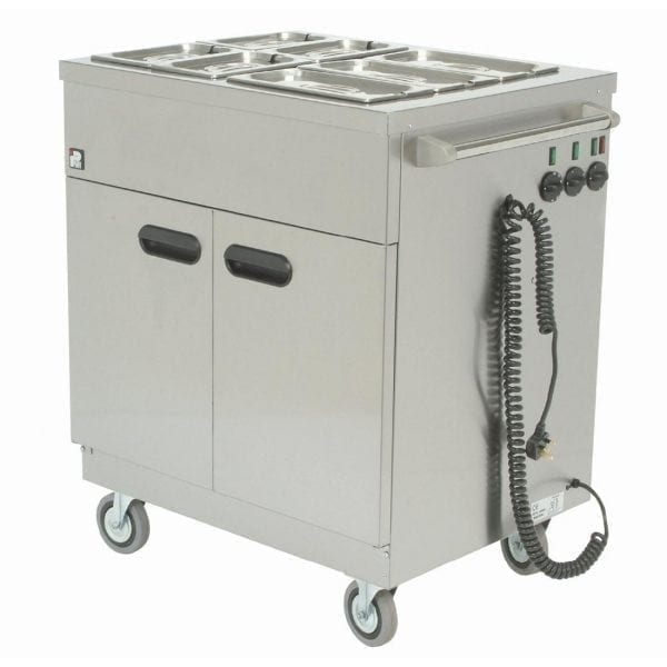Parry Mobile Servery Bain Marie Top - 22kW (Direct)-0