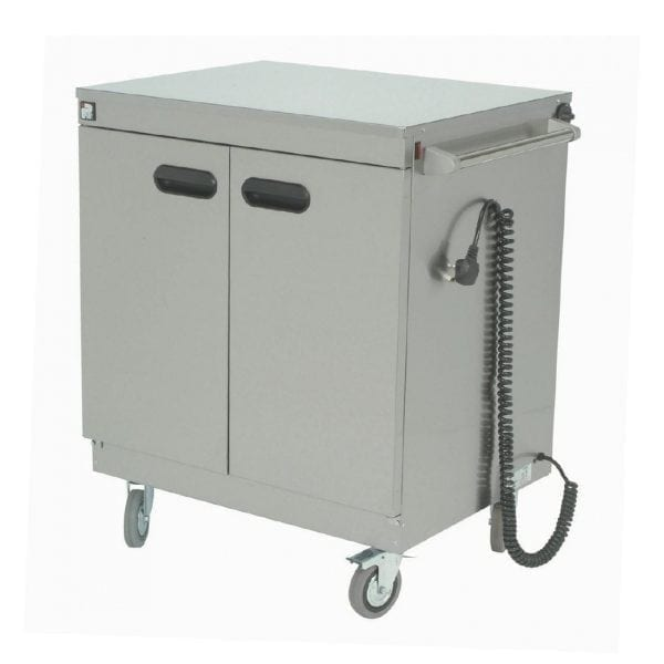 Parry Mobile Servery Flat Top 845Wx625Dx970H mm 2kW (Direct)-0