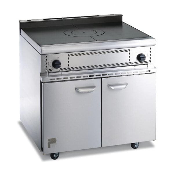 Parry Oven Range with Solid Top Natural Gas (Direct)-0