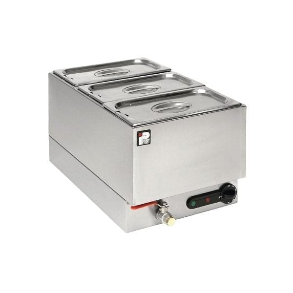 Parry Bain Marie Wet Well 3 x 1/3 GN 13kW (Direct)-0