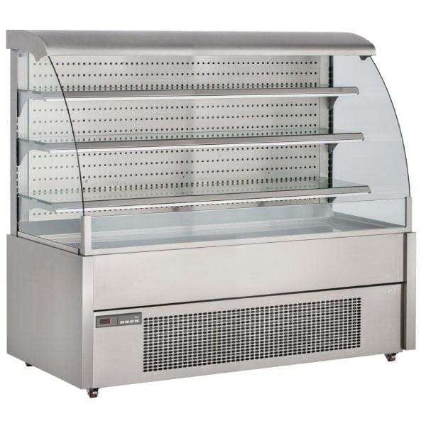 Foster1200mmWide 'Grab & Go' Open Front Display Chiller(304StSt ext/int)(Direct)-0