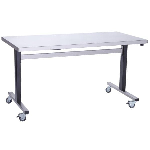 Parry Stainless Steel Adjustable Height Table Electric Static (Direct)-0