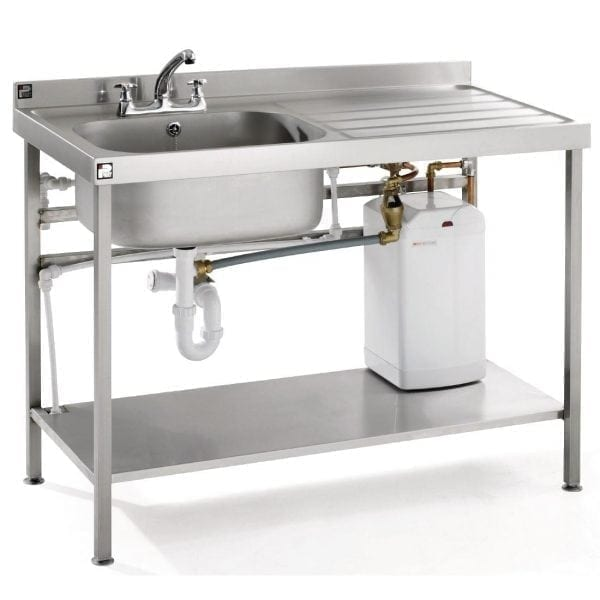 Parry Quick Fit Heated Sink - 1200mm (Direct)-0