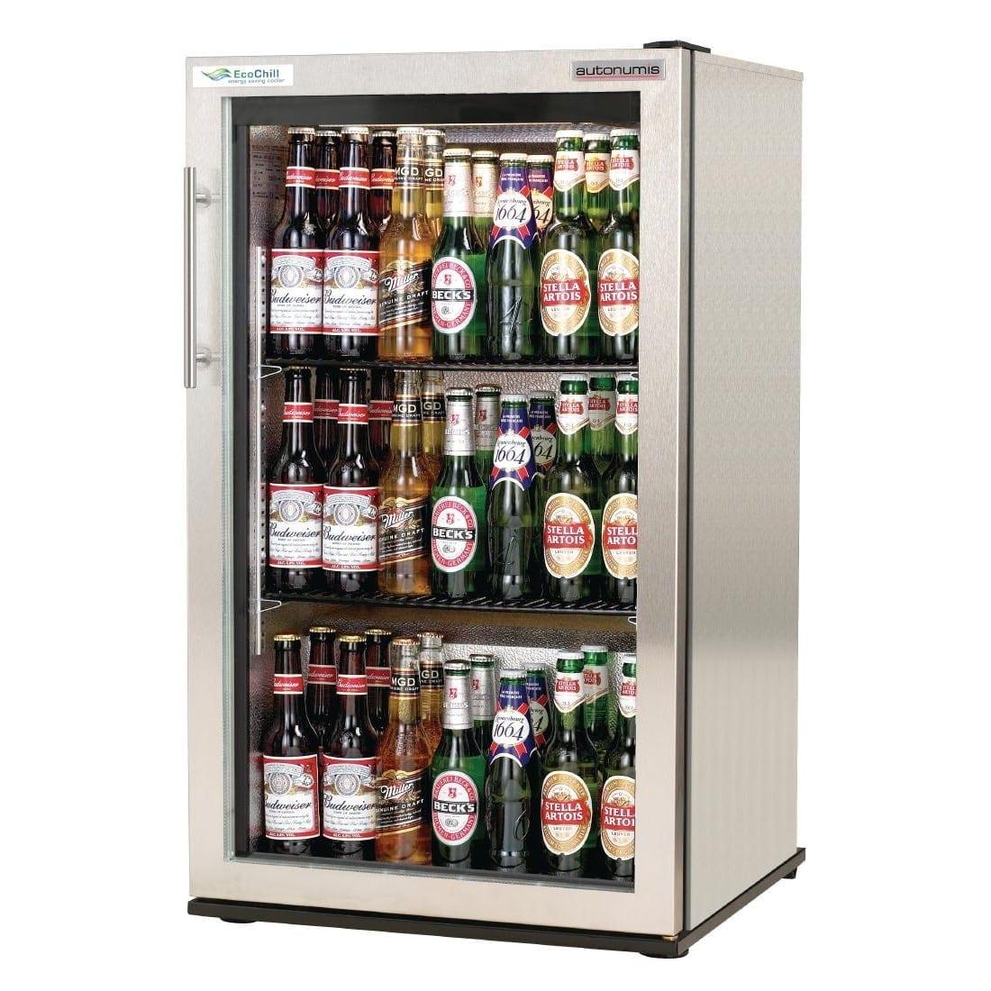 Autonumis EcoChill 1 Door Back Bar Cooler St/St Door/Cabinet (Direct)-0